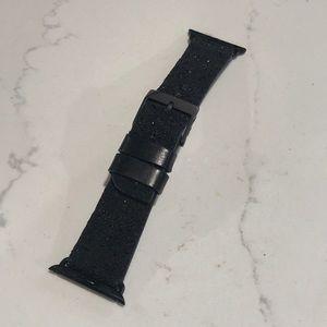 Case-mate iPhone glitter black watch band